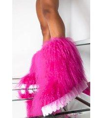 akira azalea wang telling it like it is flat bootie in pink