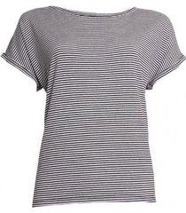 20 to 20to t-shirt 20to56 stripe zwart