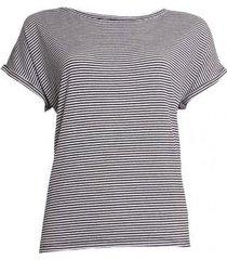 20 to 20to t-shirt 20to56 stripe zwart