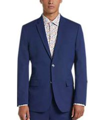 ben sherman blue extreme slim fit suit