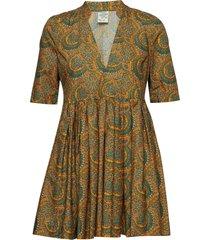 aubrie korte jurk multi/patroon baum und pferdgarten
