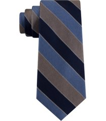 tommy hilfiger men's paramount striped tie