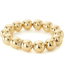 women's lagos 18k gold stretch bracelet
