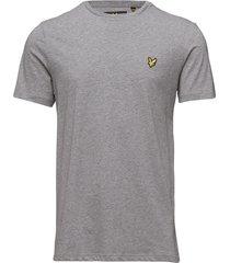 crew neck t-shirt t-shirts short-sleeved grå lyle & scott