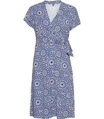 dress knitted fabric dresses everyday dresses blå gerry weber edition