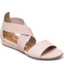 woms sandals shoes summer shoes flat sandals rosa tamaris