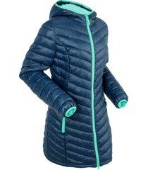 giacca lunga trapuntata ultra leggera con sacchetto (blu) - bpc bonprix collection