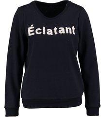 vero moda zachte donkerblauwe sweater