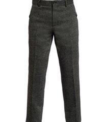 joe's flat front donegal men's pants