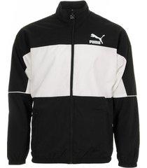 sweater puma retro woven track jacket