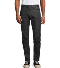 slim-fit stretch-cotton pants