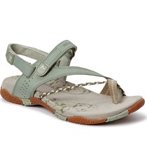 siena seagrass shoes summer shoes flat sandals creme merrell