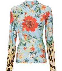 maglia a maniche lunghe (viola) - bodyflirt boutique