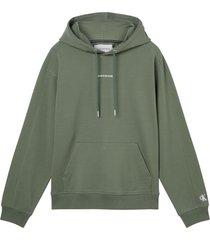 calvin klein j30j317388 branding hoodie ldt duck green -
