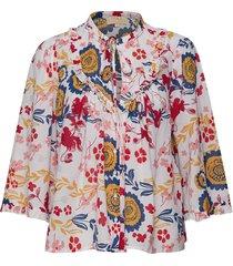 festival blouse blouse lange mouwen multi/patroon by ti mo
