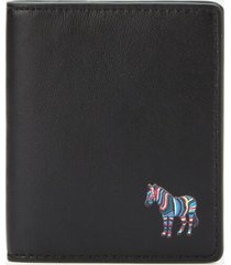 ps paul smith men's zebra slim billfold wallet - black