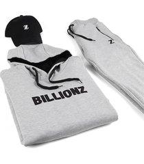 conjunto gris billionz iconic