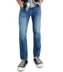 men's madewell slim authentic flex jeans, size 31 x 32 - blue