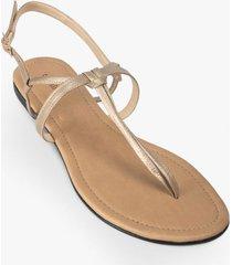 sandalia de cuero para mujer