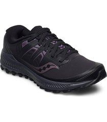 peregrine ice+ shoes sport shoes running shoes svart saucony