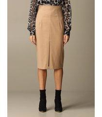 blumarine skirt blumarine pencil skirt in cady