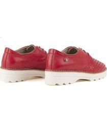 zapatos casuales para mujer cosmos rojo-2