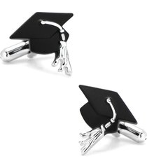 cufflinks, inc. graduation cap cuff links in black at nordstrom