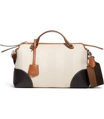 fendi medium by the way canvas satchel -