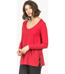 lilla p laced side tunic