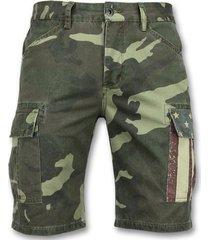 korte broek enos camouflage korte broek - bermuda online -9017 -