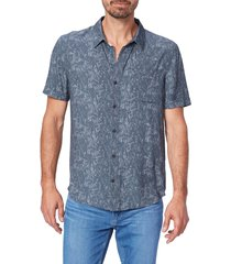 men's paige brayden slim fit short sleeve button-up shirt