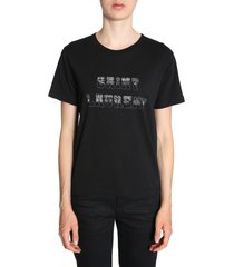 saint laurent 70s saint laurent logo t-shirt
