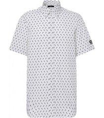 camisa s riley sho ka shirt blanco diesel
