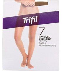 meia calça trifil dedinhos fio 7 feminina