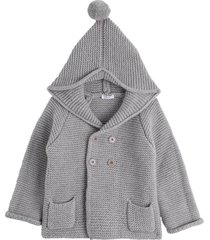 il gufo tricot hoodie