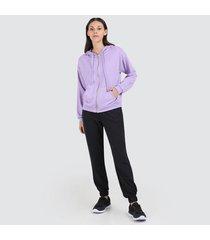 pantalón para mujer unicolor jogger
