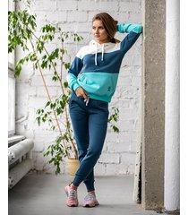 bluza kangurka 3 kolory jeans