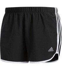 shorts running adidas m20 mujer negro