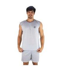 pijama mvb modas curto camiseta masculino