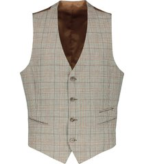 move by digel gilet - slim fit - bruin