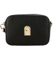 furla mini bag furla sleek mini camera case in textured leather