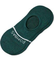 men's bombas merino wool blend no-show socks, size large - blue