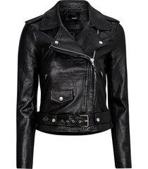 skinnjacka objnandita leather jacket