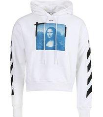 blue mona lisa hoodie