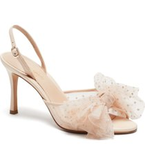 kate spade new york women's bridal sparkle evening dress heels