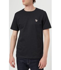 ps paul smith men's regular fit zebra t-shirt - dark navy - xl - navy