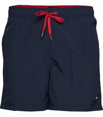 sf medium drawstring badshorts blå tommy hilfiger