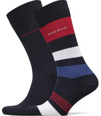 2p rs stripe cc underwear socks regular socks blå boss