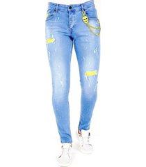 skinny jeans lf lichte jeans gaten