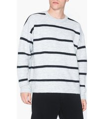 topman grey stripe jumper tröjor grey